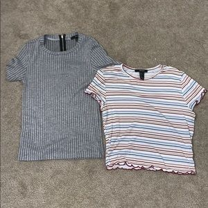 Forever 21 crop tops